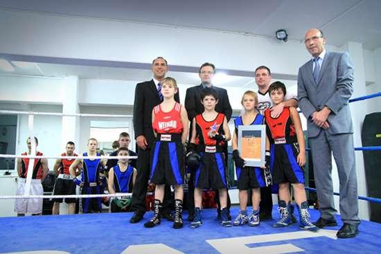 Verleihung des Stern des Sports in Bronze an den Weimarer Boxverein e.V.