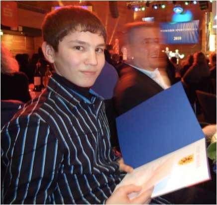Ruslan Saripov als Nachwuchssportler 2010 geehrt