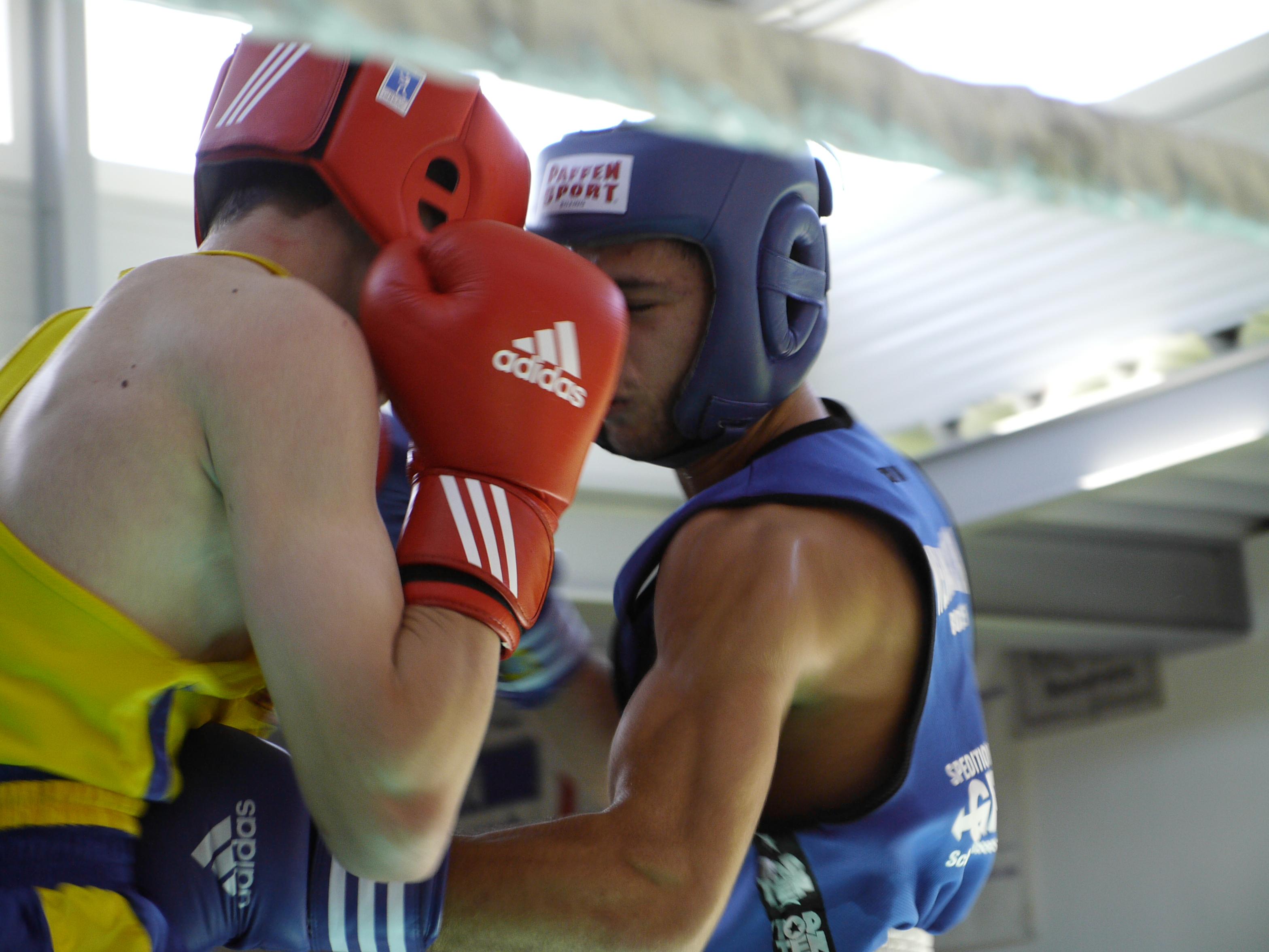boxen frau gegen mann